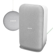 Paquete de Google Home Max y Home Mini