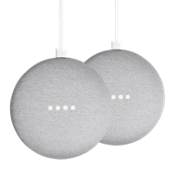 Google Home Mini - Paquete de 2