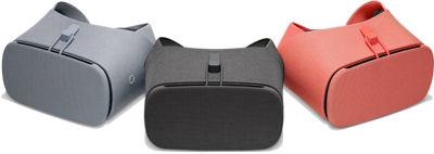 3 Google Daydream View. En colores carbón, niebla y coral