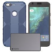 Paquete de cargador y protección con funda Grip para Pixel