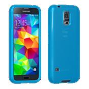 Cubierta de silicona brillante para Galaxy S 5