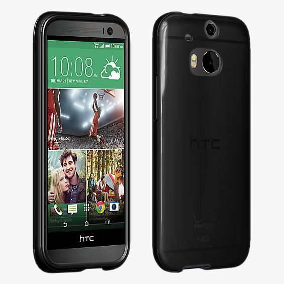 Cubierta de silicona brillante para el nuevo HTC One (M8)