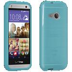 Cubierta de silicona brillante Verizon para HTC One remix