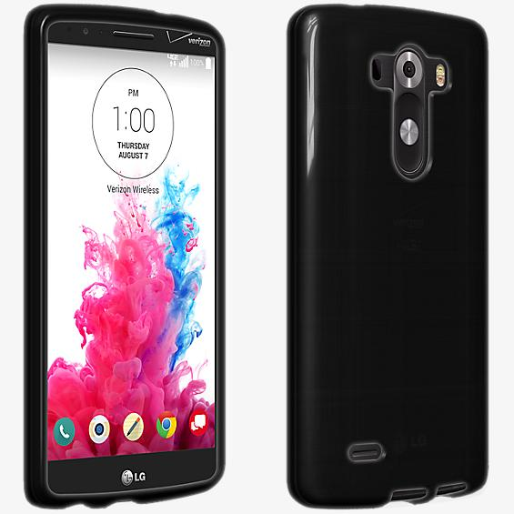 Cubierta de silicona brillante para el LG G3