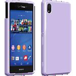 Cubierta de silicona brillante Verizon para Sony Xperia Z3v