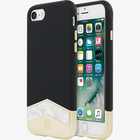 Estuche 1960 Slider para iPhone 7 - Negro/Color White Marble