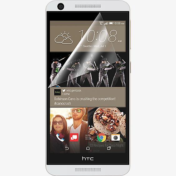 Protector de pantalla contra rayones para HTC Desire 626 - Paquete de 3
