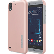 Estuche DualPro para Desire 530 - Color Rose Gold/Gris