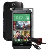 Paquete de vidrio templado para HTC One (M8)