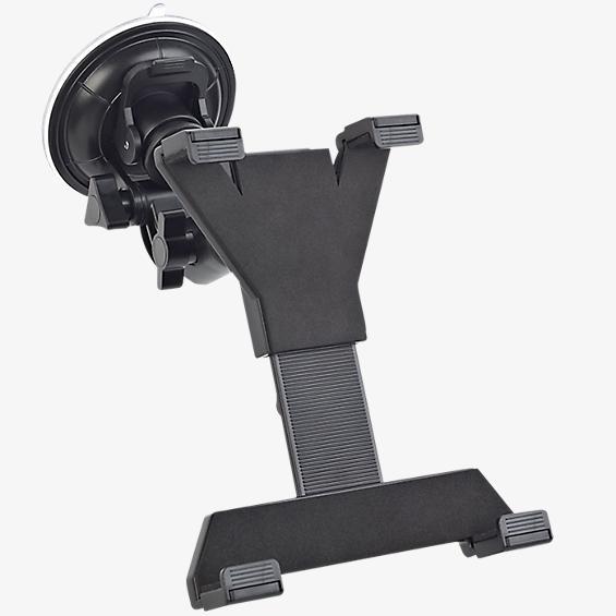 Soporte universal para tablets con montaje con ventosa