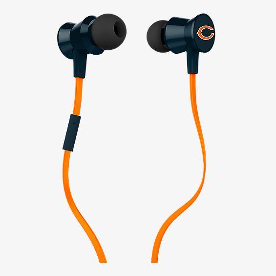 Audífono con micrófono NFL Protech Metal - Chicago Bears