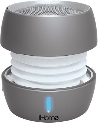 Altavoz recargable Bluetooth iHome en distintos colores