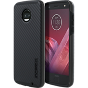 Estuche DualPro para Moto Z2 Force Edition - Color Carbon Fiber/negro