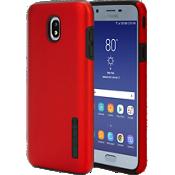 Carcasa DualPro para el Galaxy 2da. gen. J7/J7V - Color Iridescent Red/Negro