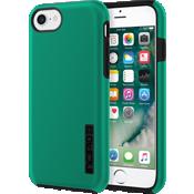 Estuche DualPro para iPhone 7 - Verde esmeralda iridiscente/Negro