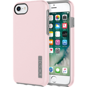 Estuche DualPro para el iPhone 7 - Color Iridescent Rose Quartz/Gris