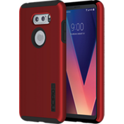 Estuche DualPro para LG V30 - Color Iridescent Red/Negro