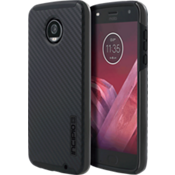 Estuche DualPro para Moto Z2 Play - Color Carbon Fiber/negro