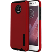 Estuche DualPro para Moto Z2 Play - Color Iridescent Red/Negro