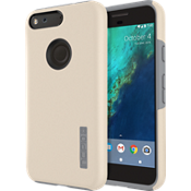 Estuche DualPro para Pixel - Champaña/Gris