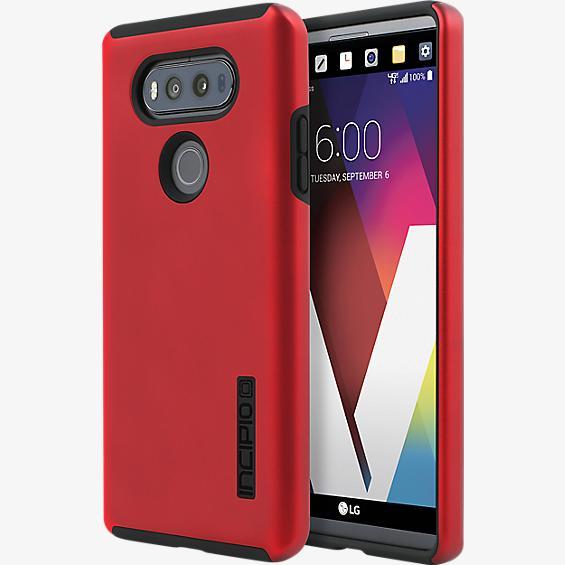 Estuche DualPro para V20 - Color Iridescent Red/Negro
