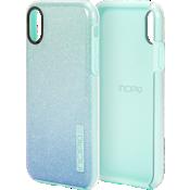 DualPro Glitter para iPhone X - Menta