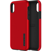 Carcasa DualPro para iPhone X - Color Iridescent Red/Negro