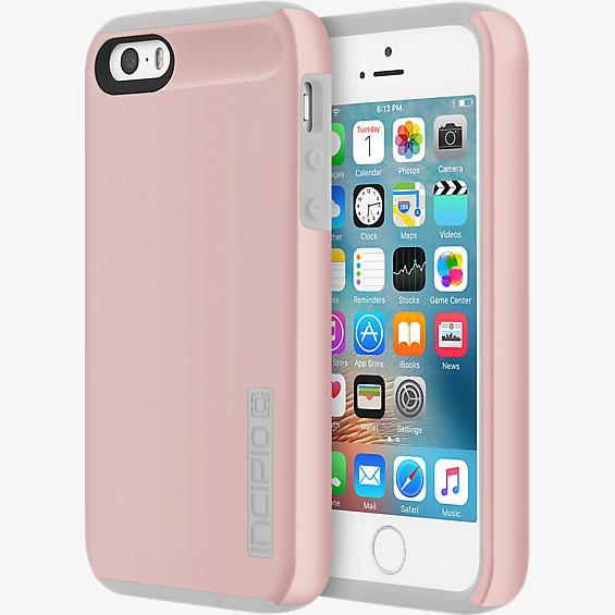 DualPro® para iPhone SE - Color Rose Gold/Gris