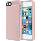 Carcasa DualPro para iPhone SE - Color Rose Gold/Gris