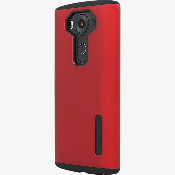 Incipio DualPro para LG V10 - Rojo iridiscente/Negro
