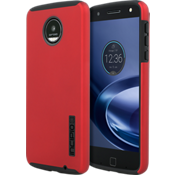 Estuche DualPro para Moto Z Droid - Color Iridescent Red/Negro