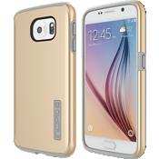 Carcasa DualPro para Samsung Galaxy S 6 - Dorado/Gris