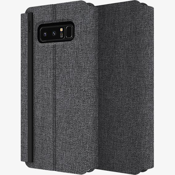 Estuche tipo carpeta Esquire Series para Galaxy Note8 - Negro