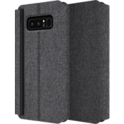 Estuche tipo carpeta Esquire Series para Galaxy Note8 - Gris