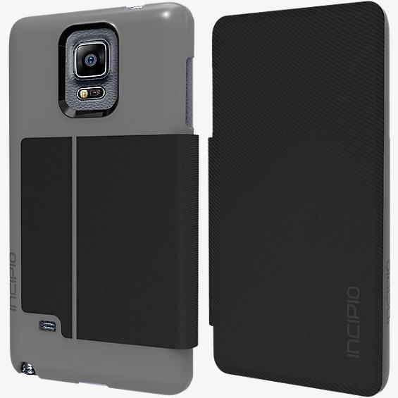 Highland para Galaxy Note 4 - Plateado oscuro y negro