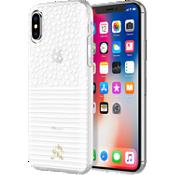 Carcasa protectora Oh Joy! X Incipio para iPhone X - Lunares y rayas