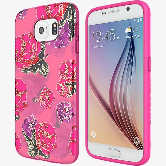 RIVAL CHROME para Samsung Galaxy S6 - Floral/dorado