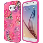 Estuche Incipio RIVAL CHROME para Samsung Galaxy S6 - Floral/dorado