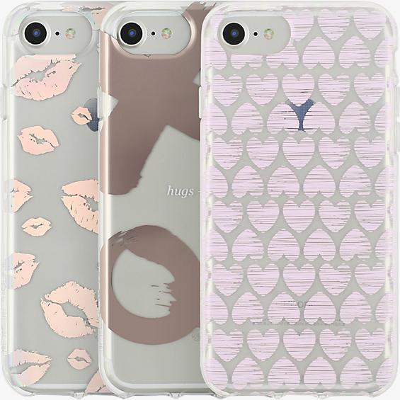Set de regalo Share the Love con 3 estuches para iPhone 7/6s/6