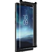 Protector de pantalla curva con cristal InvisibleShield para Galaxy Note8