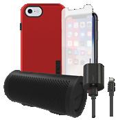 Paquete estéreo, de carga y protección Incipio DualPro para iPhone 8/7/6s/6