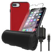 Paquete estéreo, de carga y protección Incipio DualPro para iPhone 8 Plus/7 Plus