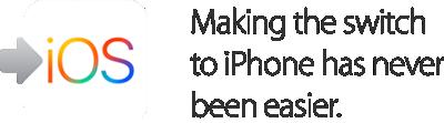 Cambiarse al iPhone nunca ha sido tan fácil.