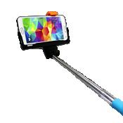 Bastón Bluetooth para selfies iPlanet - Azul