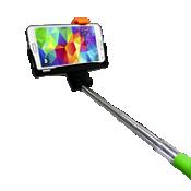 Bastón Bluetooth para selfies iPlanet - Verde