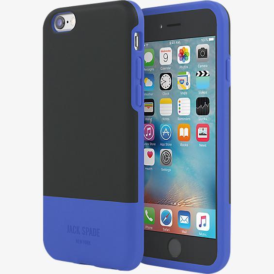 Estuche con bloques de color para iPhone 6/6s - Color Fulton Black/Azul