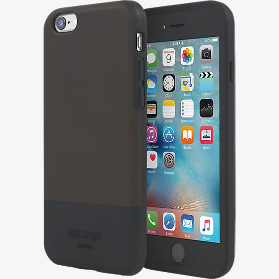 Estuche con bloques de color para iPhone 6/6s - Fulton Chocolate Brown/Negro