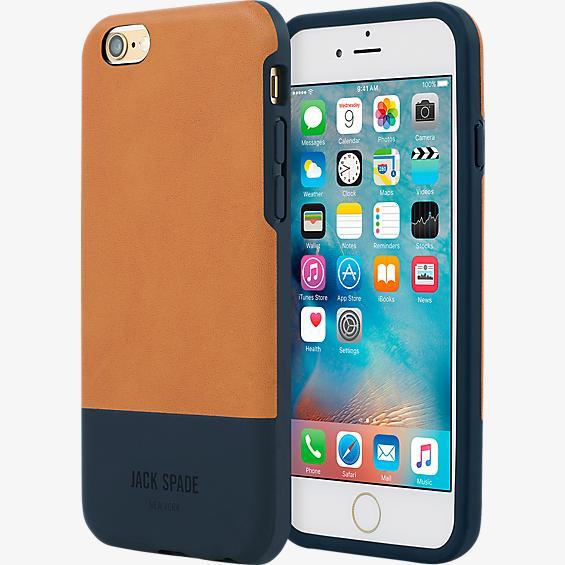 Estuche bloque de color para iPhone 6/6s - Fulton Bronce/Azul marino