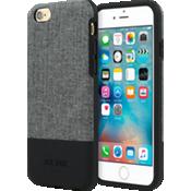 Estuche con bloques de color para iPhone 6/6s - Gris Oxford/Negro