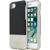 Color-Block Slider Case (2-Piece) for iPhone 7 - Black/Metallic